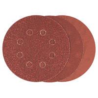 Bosch  Sanding Discs Punched 125mm 60 / 120 / 240 Grit 6 Pieces