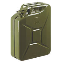 Steel Jerry Can Olive Green 20Ltr