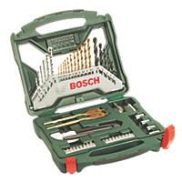 Bosch  Straight & Hex Shank Mixed Drill & Screwdriver Bit Set 50 Pieces