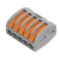 Wago  32A 5-Way Lever Connector 40 Pack