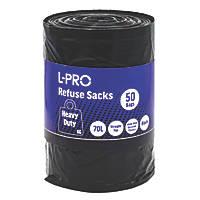 Black Bin Liners 50 Pack