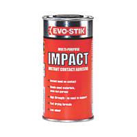 Evo-Stik Impact Adhesive Off-White To Amber 250ml