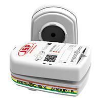 JSP Force 8 Press-to-Check Combination Cartridges ABEK1P3 2 Pack