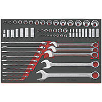 Teng Tools AF Socket & Spanner Set 62 Pieces