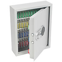 Smith & Locke 71-Hook Electronic Key Cabinet Safe