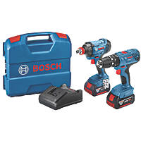 Bosch 0615990M53 18V 4.0Ah Li-Ion Coolpack  Cordless Twin Pack