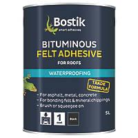 Cementone Feltfix Bituminous Roof Felt Adhesive Black 5Ltr
