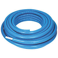 Purmo Pert/Al/Pert Press-Fit Insulated Multi-Layer Composite Pipe 26mm x 50m Blue Insulation