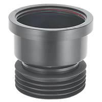 McAlpine DC1-BL Drain Connector Black 110mm