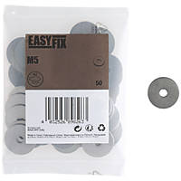 Easyfix A2 Stainless Steel Washer M5 x 1.3mm 50 Pack