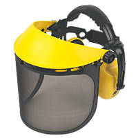 Site  Browguard with Ear Defenders Yellow