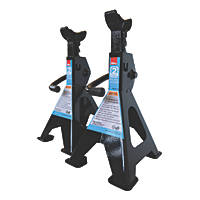 Hilka Pro-Craft 2 Tonne Ratchet Axle Stands Pair