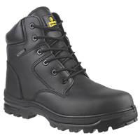 Amblers FS006C Metal Free  Safety Boots Black Size 9