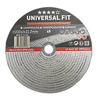 "Metal Cutting Disc 9"" (230mm) x 2 x 22.2mm 5 Pack"