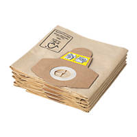 Titan  16Ltr Wet & Dry Vacuum Cleaner Dust Bags 5 Pack