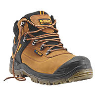 DeWalt Phoenix   Safety Boots Tan Size 8