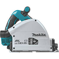 Makita DSP600ZJ 36V Li-Ion LXT 165mm Brushless Cordless Plunge Saw - Bare