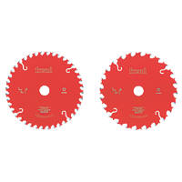 Freud TCT Circular Saw Blades Twin Pack 165 x 20mm 24 / 40T 2 Pack
