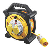 Masterplug 16A 2-Gang 25m  Cable Reel 110V