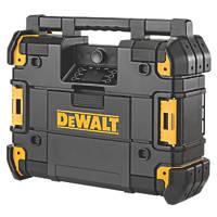 DeWalt DWST1-81079-GB DAB / FM / AM Cordless TSTAK Site Radio 18V