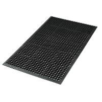 RP010001 Safety Workstation Matting Black 1500mm x 900mm