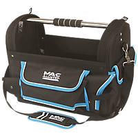 """Mac Allister  Tool Tote with Saw Holder 18"""""""
