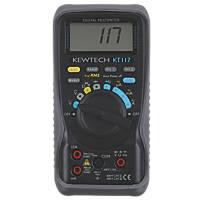 Kewtech KT117 True RMS Digital Multimeter 600V