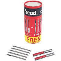 """Freud ½"""" Shank Kitchen Fitters Set 7 Pieces"""