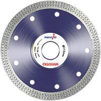 Marcrist CK650 Tile Cordless Angle Grinder Diamond Tile Blade 115 x 22.23mm