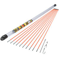 MightyRod Cable Rod Set 10m 14 Pieces