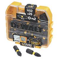 DeWalt Impact Torsion Screwdriver Bit PH2 x 25mm 25 Pack