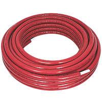 Purmo Pert/Al/Pert Press-Fit Insulated Multi-Layer Composite Pipe 20mm x 50m Red Insulation