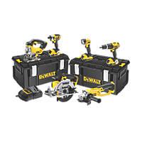 DeWalt DCK691M3-GB 18V 4.0Ah Li-Ion XR  Cordless 6-Piece Power Tool Kit