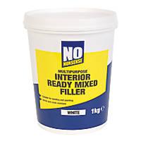 No Nonsense Interior Ready-Mixed Filler White / Off-White 1kg