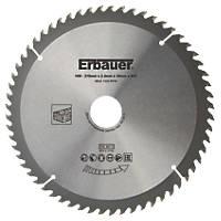 Erbauer Circular Saw Blade 210 x 30mm 60T