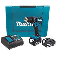 Makita DHP485STE 18V 5.0Ah Li-Ion LXT Brushless Cordless Combi Drill