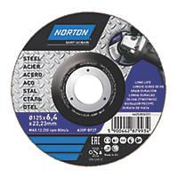 "Norton  Metal Grinding Disc 5"" (5"") x 6 x 22.2mm"