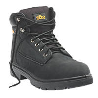 Site Marble   Safety Boots Black  Size 10