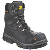 CAT Premier Metal Free  Safety Boots Black Size 12