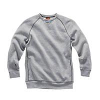 "Scruffs Trade Fleece Sweatshirt Grey X Large 46"" Chest"