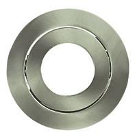 Luceco FType Downlight Bezel Brushed Steel