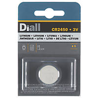 Diall CR2450 Coin Cell Battery