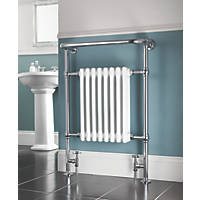 AF-IE16001 Bathroom Radiator 952 x 659mm Chrome 1699BTU