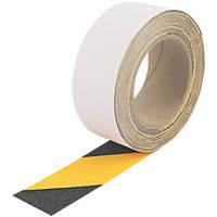 Everbuild Anti-Slip Tape Black/Yellow 10m x 50mm