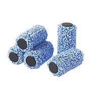 """Harris Trade Emulsion Jumbo Mini Roller Sleeves Emulsion 4"""" x 40mm 5 Pack"""