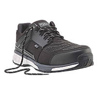 Site Agile Metal Free  Safety Trainers Black  Size 8
