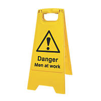 Danger Men at Work A-Frame Safety Sign 600 x 290mm