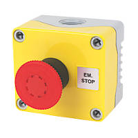 Hylec 1DE.01.01AG-SF Red Push-Button Isolator Switch