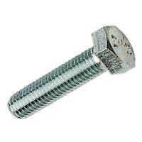 Easyfix BZP Steel Set Screws M12 x 100mm 50 Pack