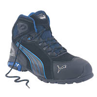Puma Rio   Safety Trainer Boots Black Size 10